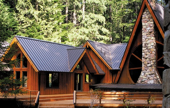 Muskoka Panel Steel Tile Metal Roofing