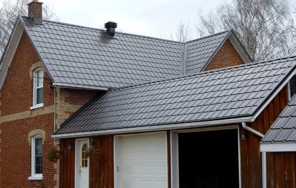 Slate Shake Steel Tile