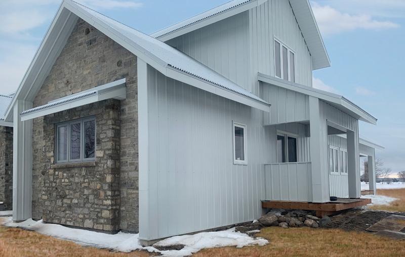 Residential Metal Side Wall Panels