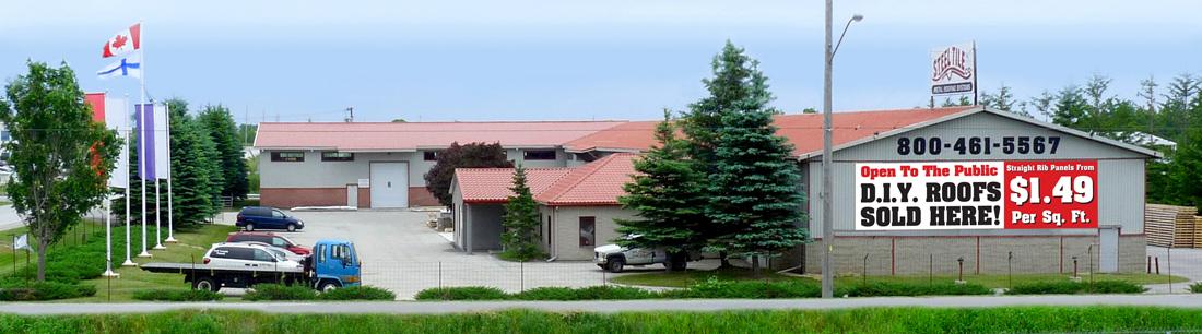 steeltile-outside-building